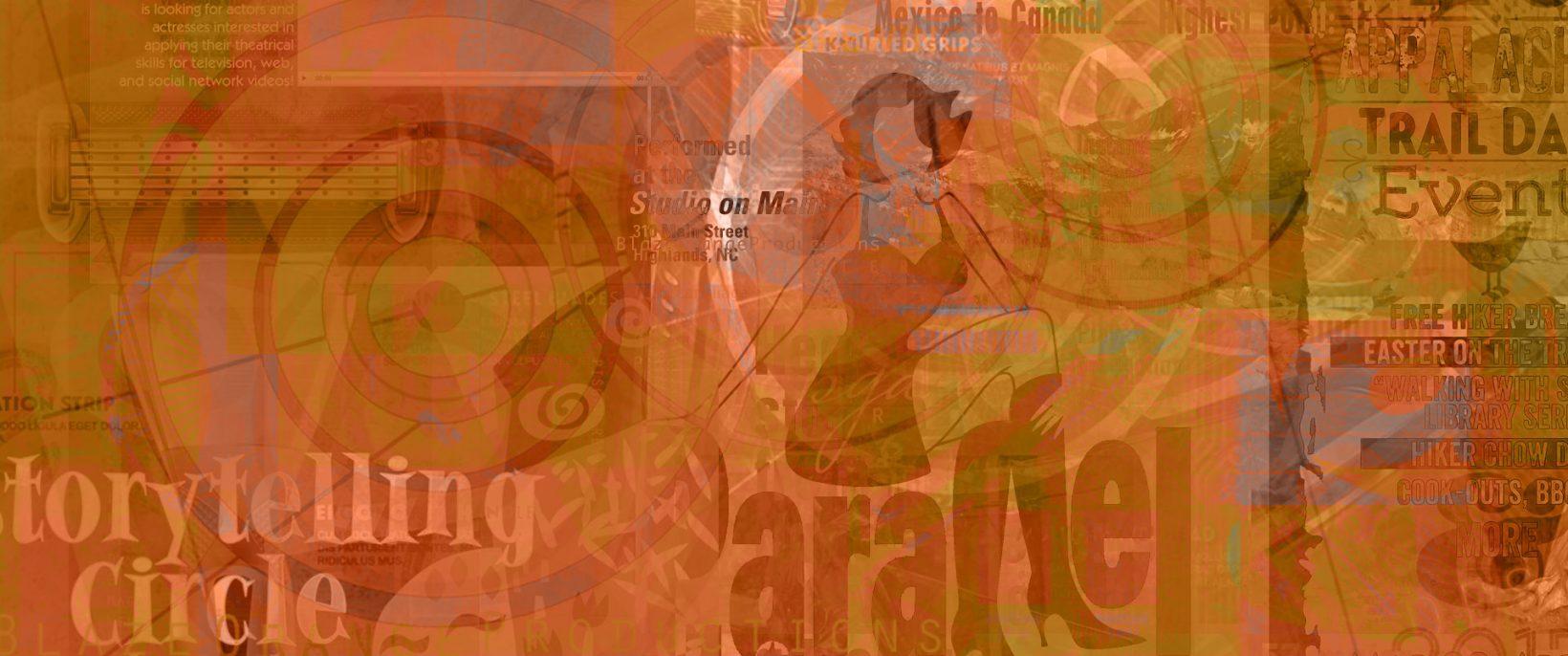 Ads/Promos_Banner Montage, by Lonnie Busch, Crater Line Design