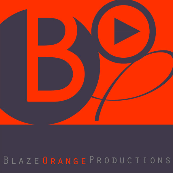 Blaze Orange Productions Logo_Franklin, NC_designed by Lonnie Busch
