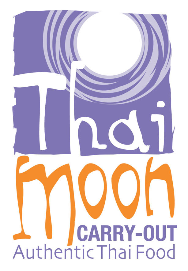 Thai Moon Carry-Out Logo_Ocracoke Island, NC_designed by Lonnie Busch