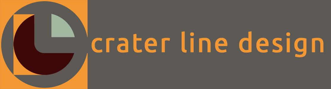 Crater Line Design logo